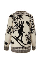Bogner - Wiola Black & White Instaria Wool Sweater