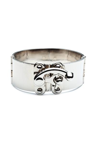 Eddie Borgo - Brass Silver Latch Cuff Bracelet