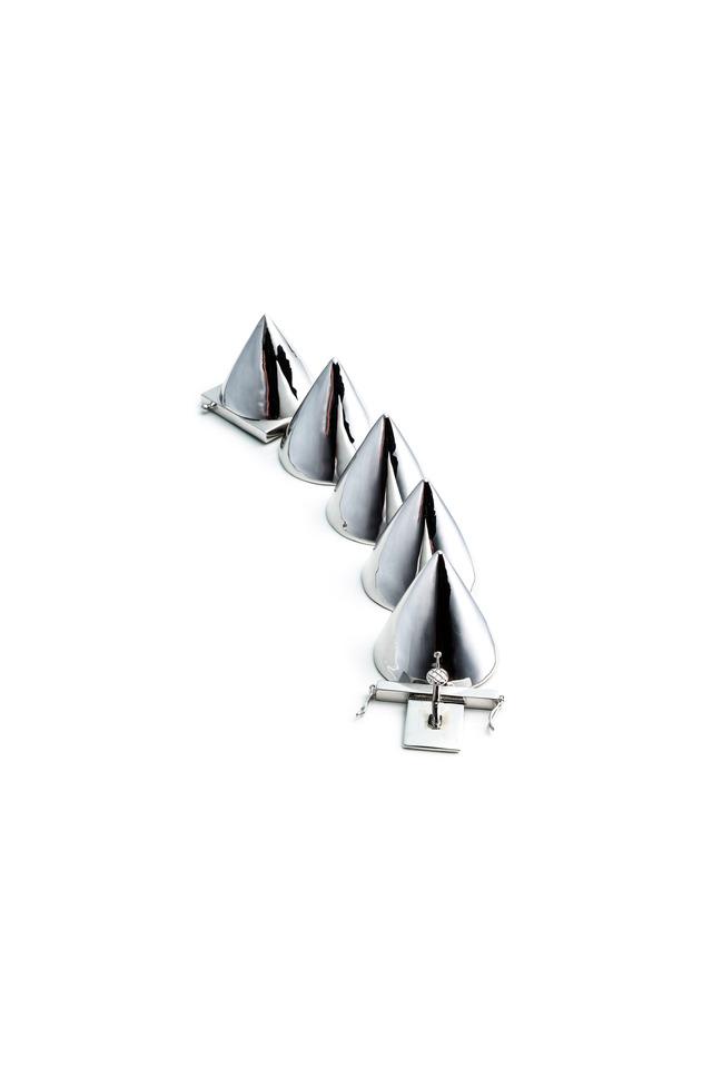 Sterling Silver Cone Bracelet