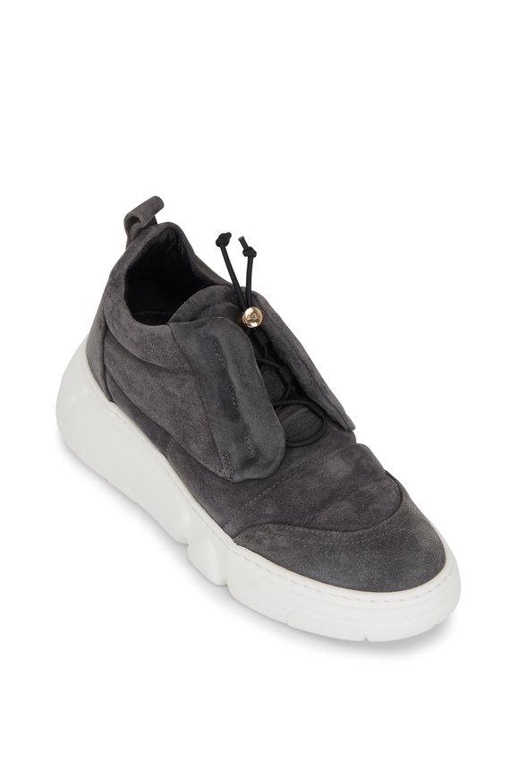 AGL Venus Carbon Gray Suede Sneaker