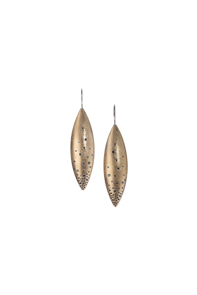 Todd Reed - Rose Gold Diamond Earrings