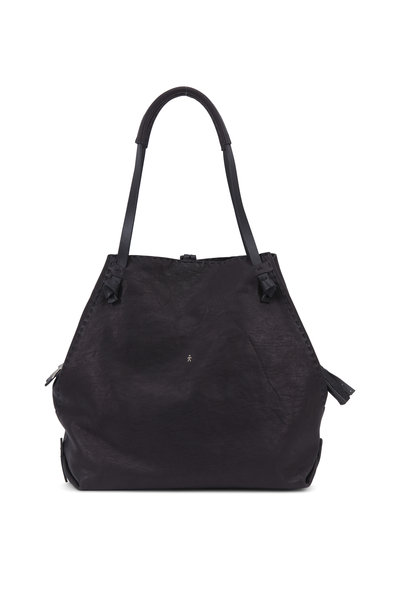 Henry Beguelin - Ranch Black Leather Large Tote