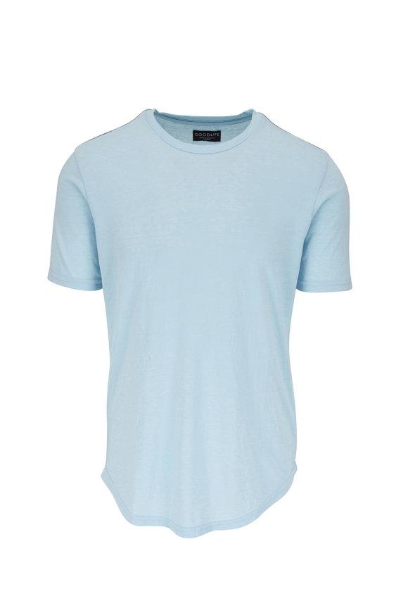 Good Life Cool Blue Tri-Blend T-Shirt