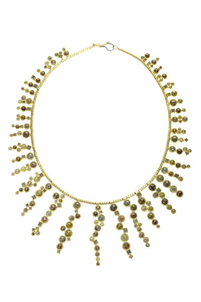 Todd Reed - Yellow Gold Mixed Rose Cut Necklace