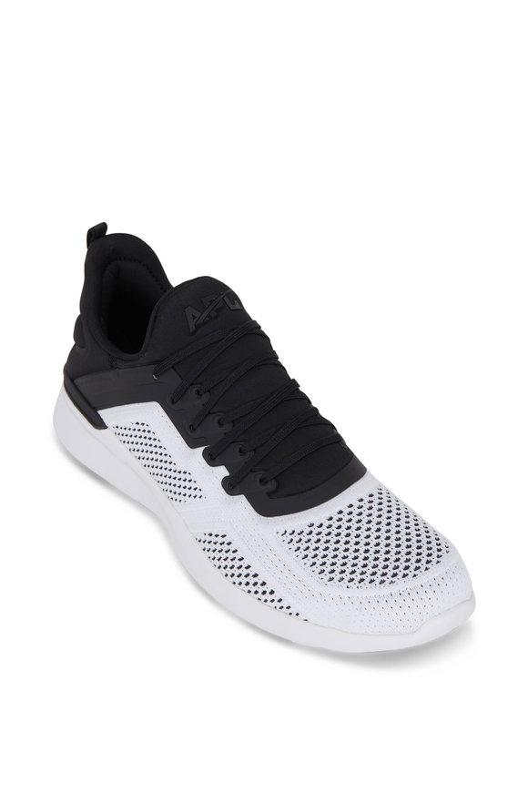 APL Athletic Propulsion Labs Tracer Black & White TechLoom Sneaker