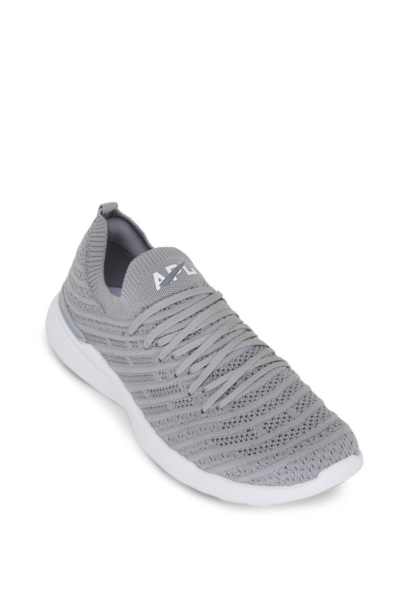 APL Athletic Propulsion Labs Wave Cement Gray TechLoom Sneaker