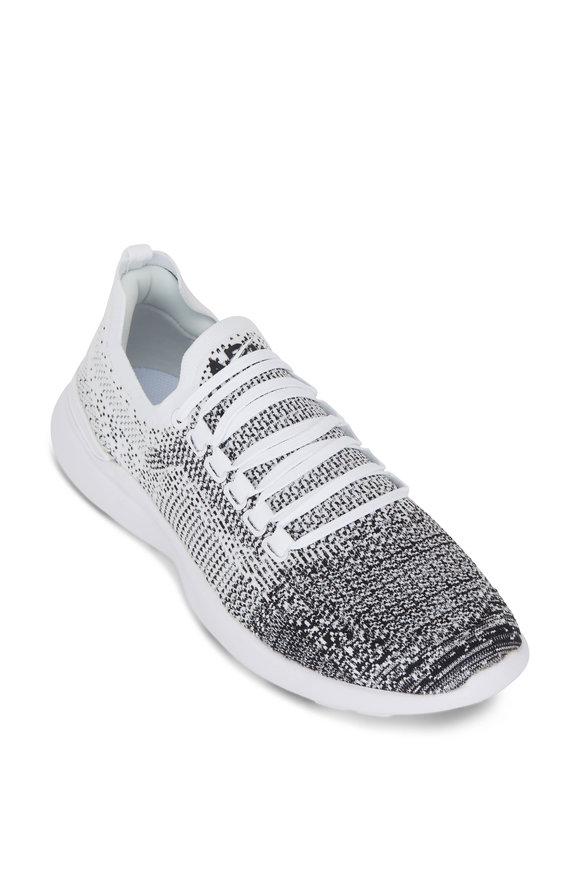 APL Athletic Propulsion Labs Breeze Black & White Ombre TechLoom Sneaker