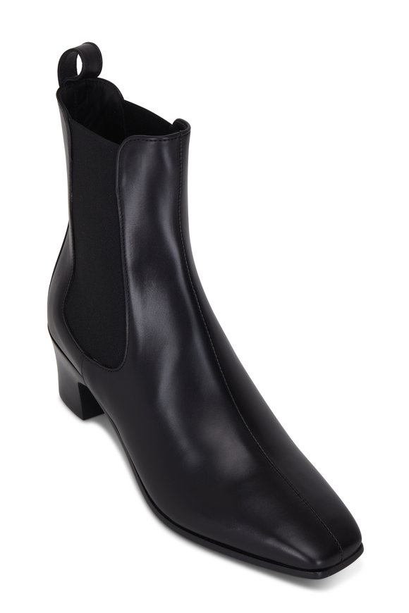 Pierre Hardy Melody Black Leather Chelsea Boot, 60mm