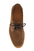 Berluti - Latitude Suede Boat Shoe