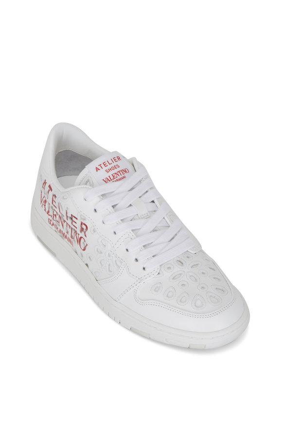 Valentino Garavani Atelier White Leather 08 San Gallo Edition Sneaker
