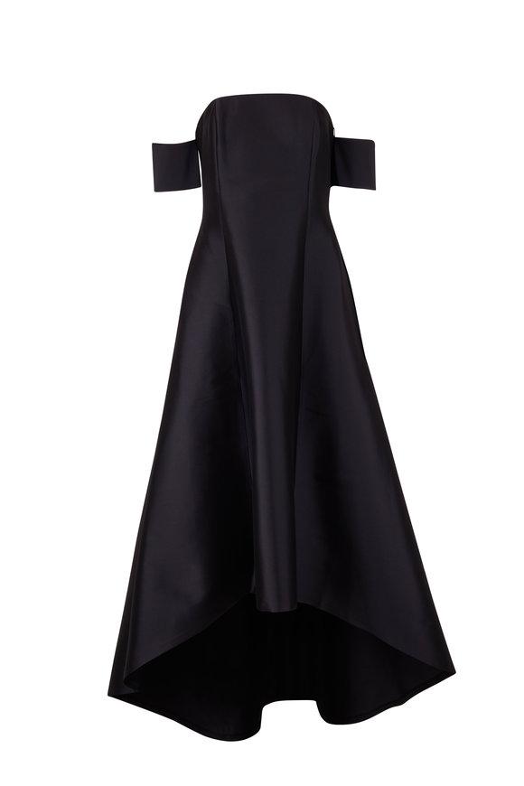 Sachin + Babi Agyness Dark Blue Gown