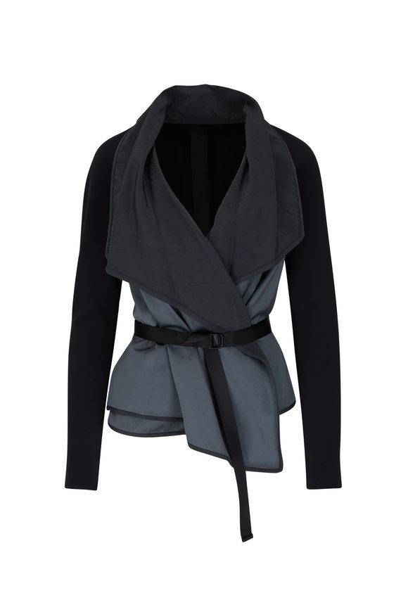 KZ_K STUDIO Arose Black Fluid Jacket
