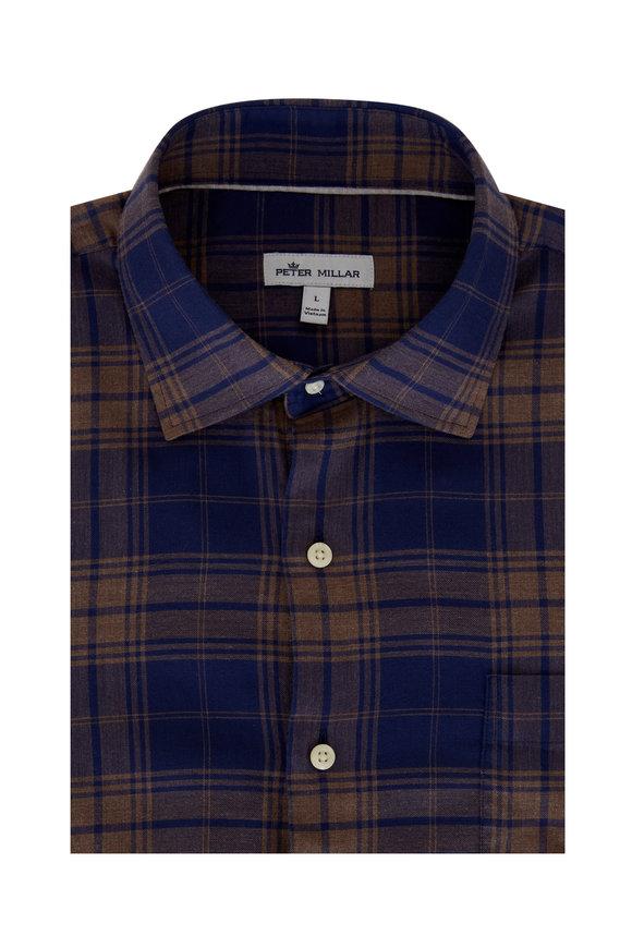 Peter Millar Autumn Soft Thompson Cotton Sport Shirt