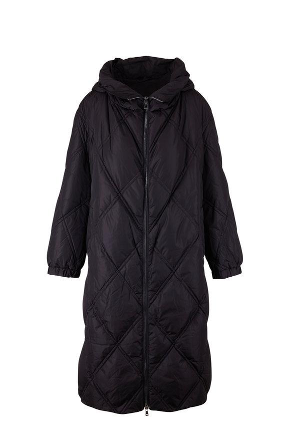 Dorothee Schumacher Cozy Coolness Black Down Coat
