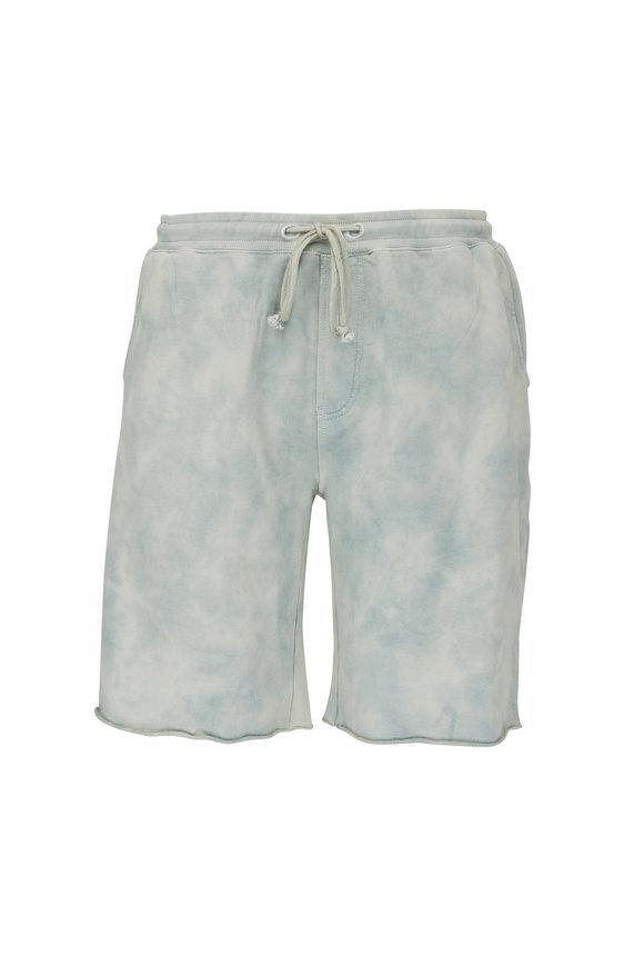 Hudson Clothing Sage Dust Darted Sweat Shorts