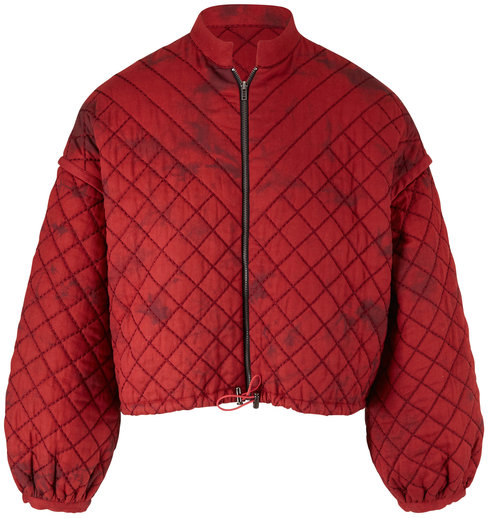 Sachin + Babi Iggy Burgundy Quilted Jacket