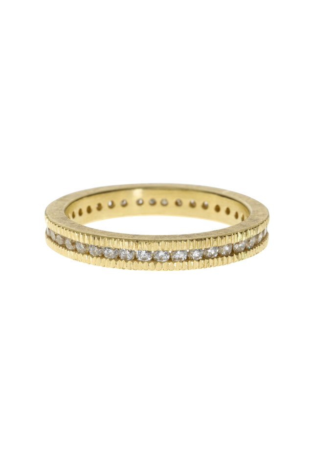 Gold Diamond Band