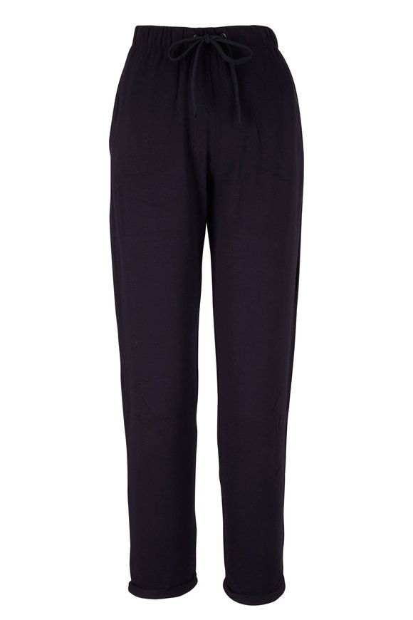 Majestic Marine Blue Soft Touch Jogger