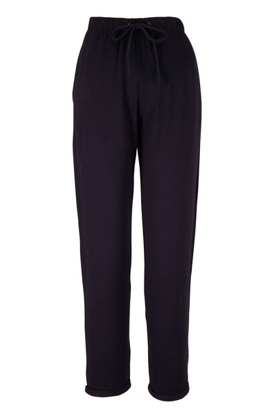 Majestic - Marine Blue Soft Touch Jogger