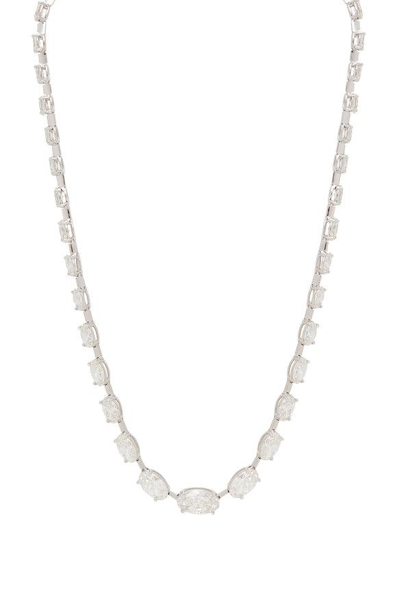 Louis Newman Diamond Necklace