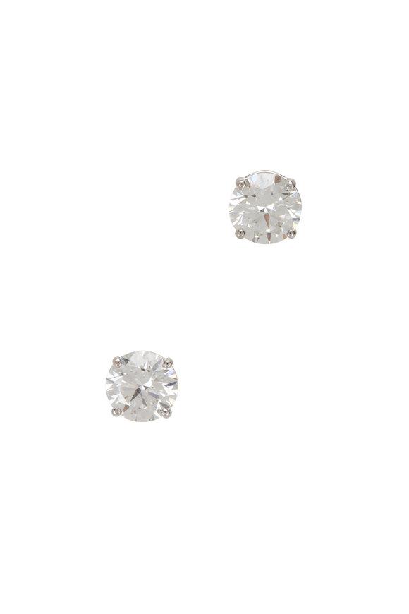 Louis Newman Diamond Studs
