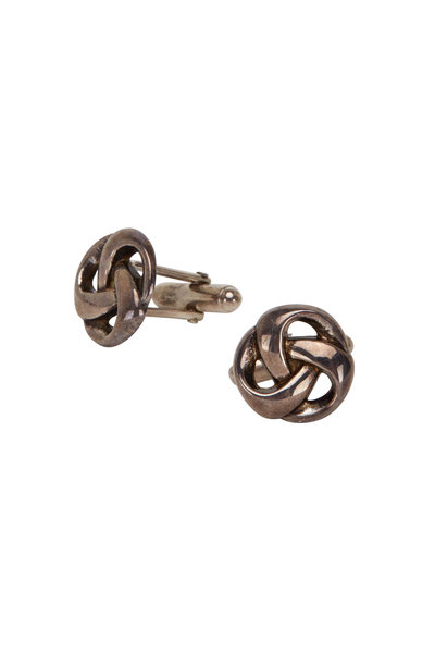 Catherine M. Zadeh - Open Knot Cuff Links