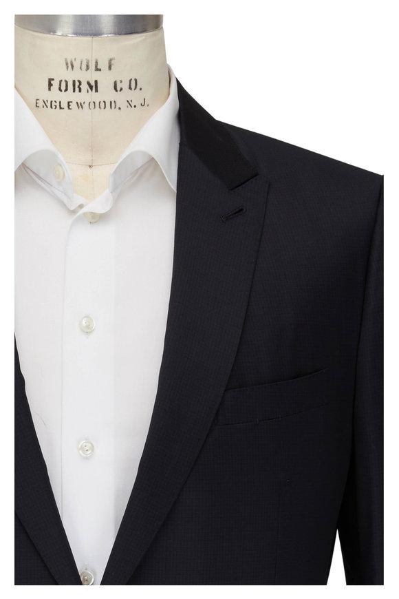 Ermenegildo Zegna Solid Dark Gray Wool Suit