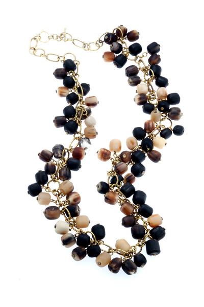 Ashley Pittman - Single Strand Horn Necklace