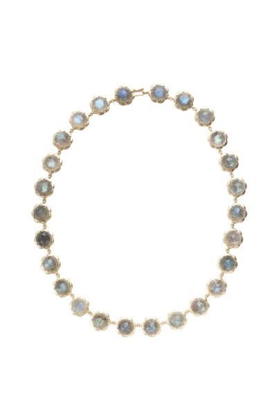 Jamie Wolf - Labradorite Gold Necklace