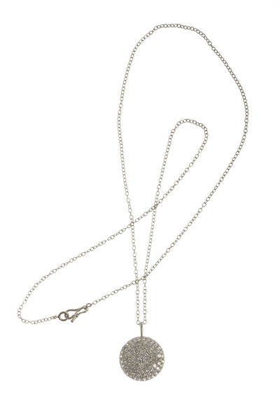 Jamie Wolf - Aladdin White Gold Pavé Diamond Necklace