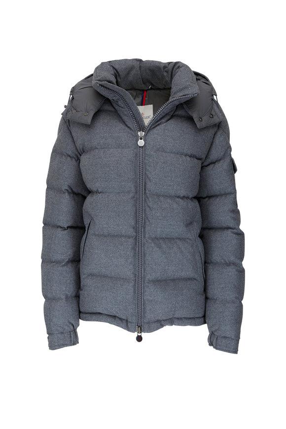 Moncler Montgenevre Charcoal Down Jacket