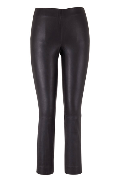 Vince - Black Stretch Leather Legging
