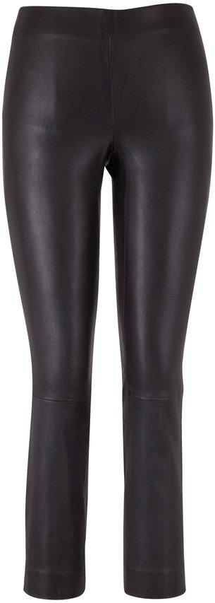 Vince Black Stretch Leather Legging