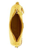 Prada - Pouch Yellow Raffia Shoulder Bag