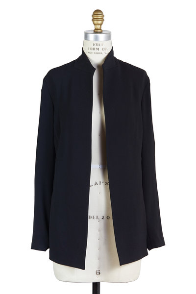 Peter Cohen - Black Long Cardigan Jacket