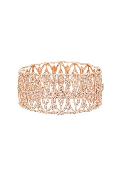 Sutra - White Gold All Diamond Bracelet