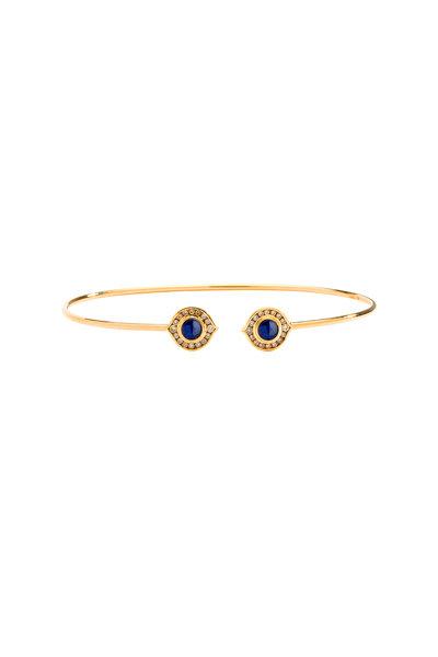 Syna - Blue Sapphire Kamala Bracelet