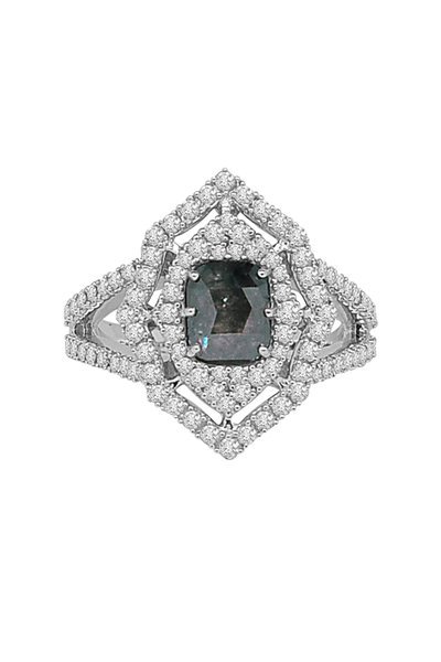 Sutra - White Gold All Diamond Ring