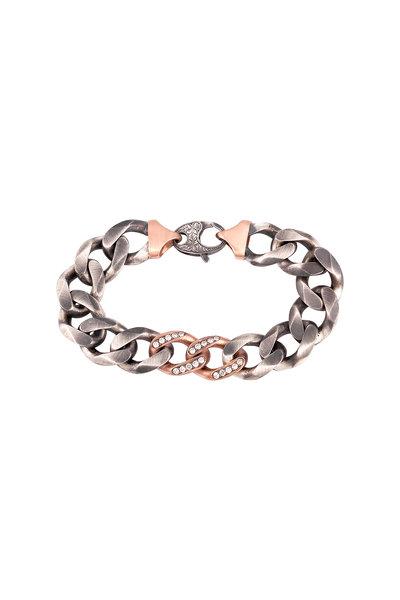 Sylva & Cie - Rose Gold Chain Bracelet