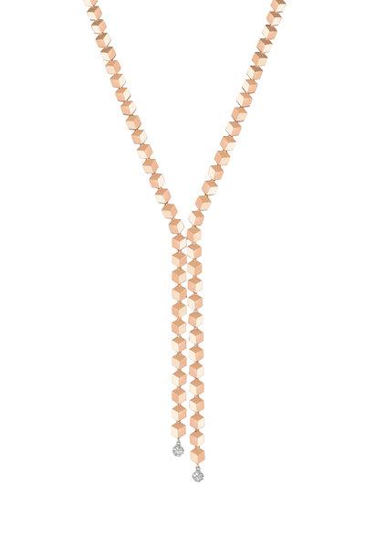 Paolo Costagli - Brilliante Rose Gold Diamond Sexy Necklace