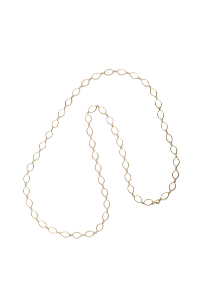 Jamie Wolf - Yellow Gold Diamond Link Necklace