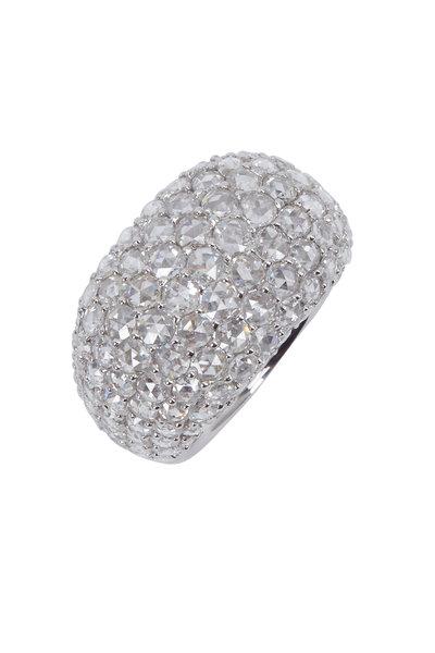 Kathleen Dughi - White Gold White Diamond Ring
