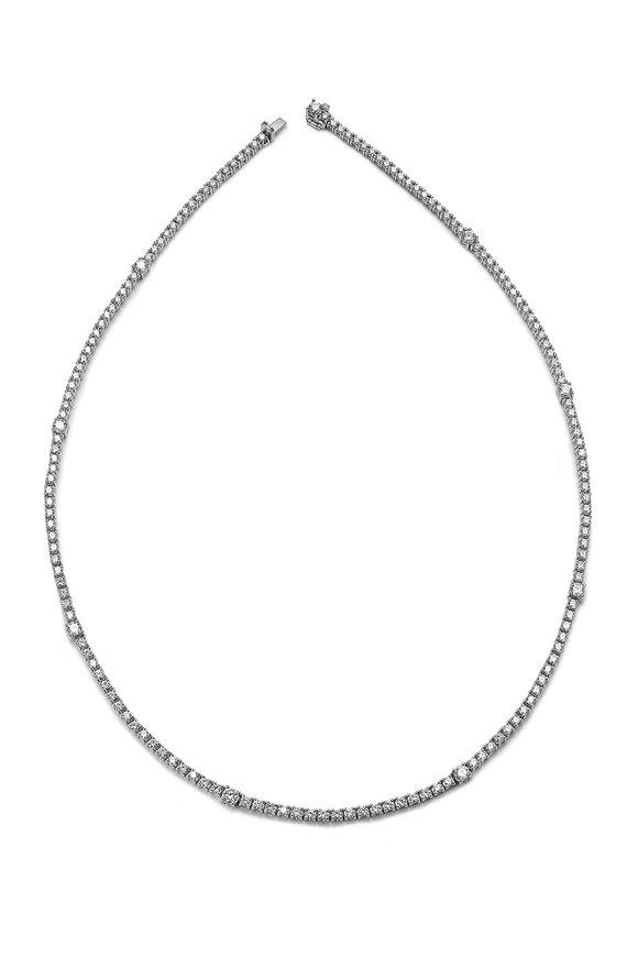 Nam Cho Basic White Diamond Chain Necklace
