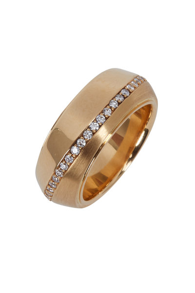 Kathleen Dughi - 18K Yellow Gold Diamond Sarita Band