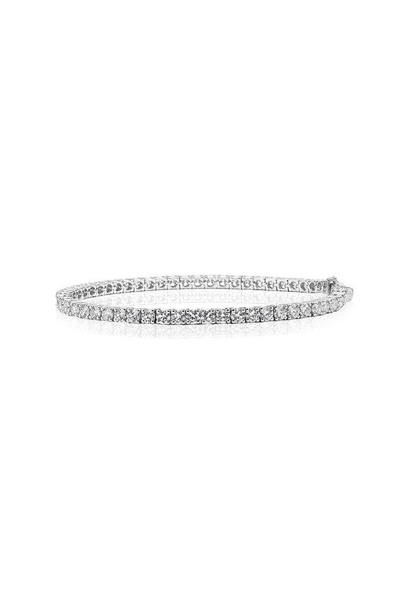 Nam Cho White  Diamond Tennis Bracelet