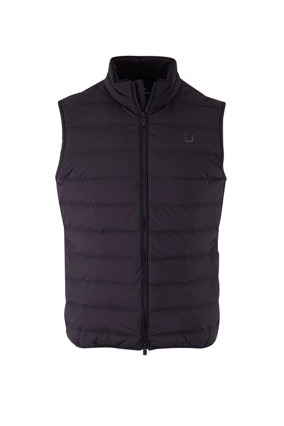 UBR Sonic Black Puffer Vest