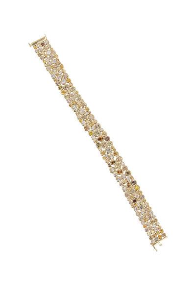 Louis Newman - Natural Fancy Diamond Bracelet