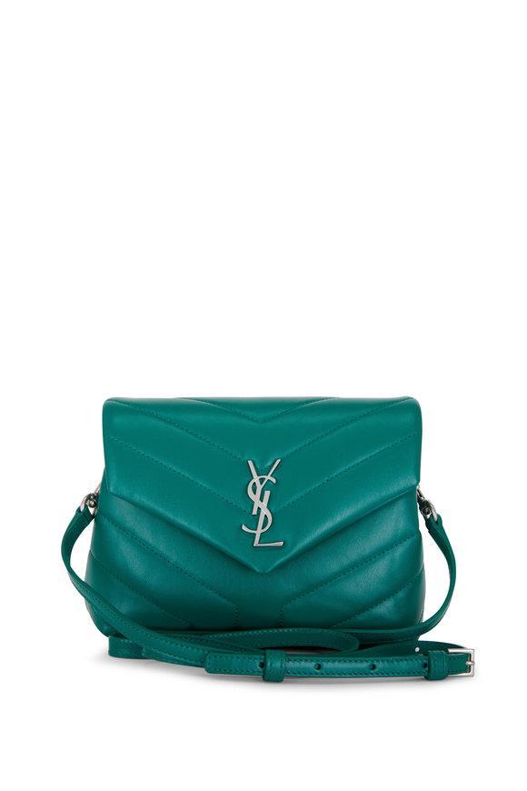 Saint Laurent Loulou Field Leather Toy Shoulder Bag