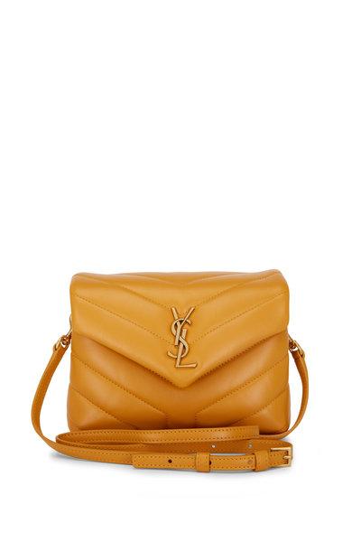 Saint Laurent - Loulou Cheddar Leather Toy Shoulder Bag