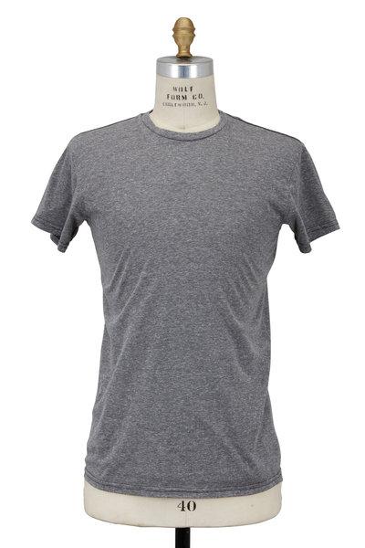 Retro Brand - Heather Gray Cotton-Blend T-Shirt